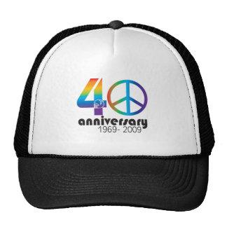 40th Anniversary 1969-2009 Trucker Hat
