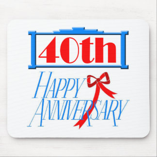 40th anniversary 3 mouse pad