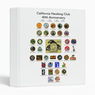 40th Anniversary 3 Ring Binders