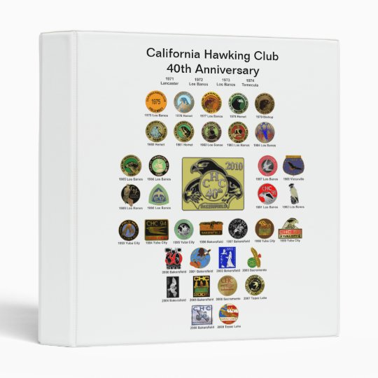 40th Anniversary Binder