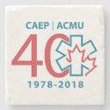 40th Anniversary Coaster