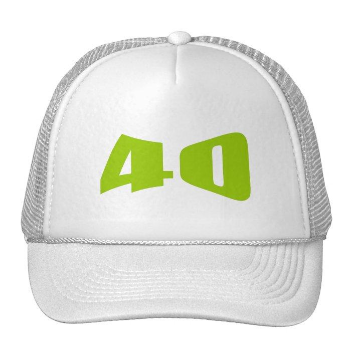 40th Anniversary Invitation Trucker Hat