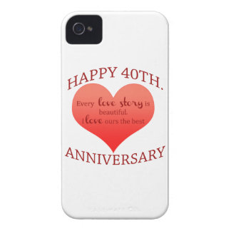 40th. Anniversary iPhone 4 Cases