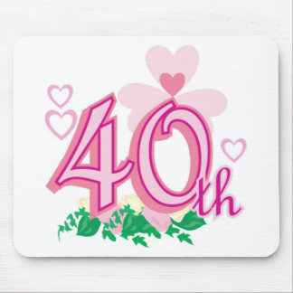 40th anniversary mouse pad