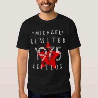40th Birthday 1975 Limited Edition Custom B02 T-shirt