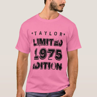 40th Birthday 1975 Limited Edition Custom D05 T-Shirt