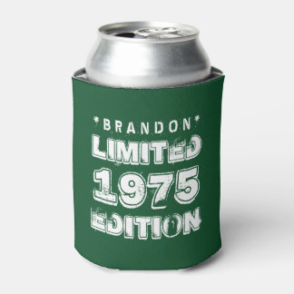 40th Birthday 1975 Limited Edition E29 GREEN Can Cooler