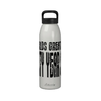 40th Birthday 40 World's Greatest Forty Year Old Water Bottle