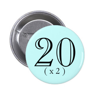 40th Birthday Boosting Button