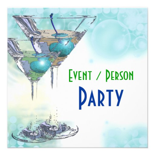 40th birthday celebration party major CUSTOMIZE Invitation