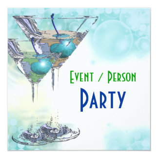 "40th birthday celebration party major CUSTOMIZE 5.25"" Square Invitation Card"