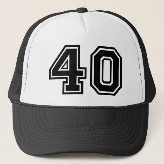 40th Birthday Classic Trucker Hat
