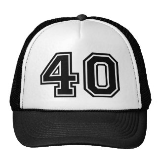 40th Birthday Classic Trucker Hat