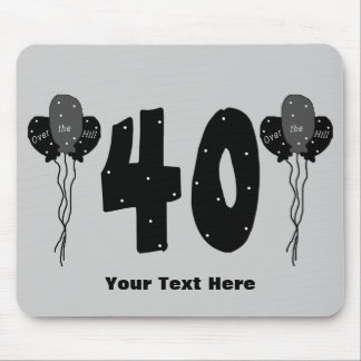 40th Birthday (customizable) Mouse Pad