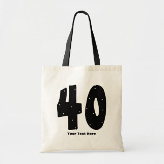 40th Birthday (customizable) Tote Bag