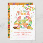 """40th Birthday Fiesta Invitation<br><div class=""""desc"""">Taco 'Bout a 40th Birthday Fiesta! Celebrate with this festive invitation featuring a large papel picado 30,  tacos,  chips & salsa,  and a margarita! This invite will set the stage for nacho average fiesta!</div>"""