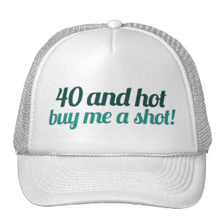 40th birthday FUN Trucker Hat