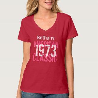 40th Birthday Gift 1973 American Classic  V206 T-Shirt