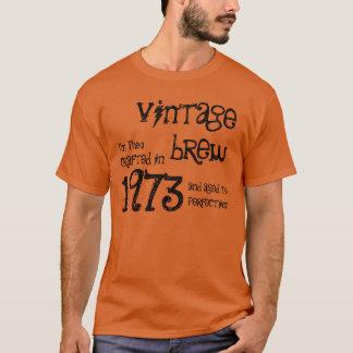 40th Birthday Gift 1973 Vintage Brew T-Shirt