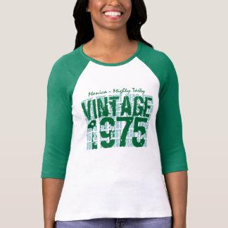 40th Birthday Gift Best 1975 Vintage Grunge A07 Tshirts