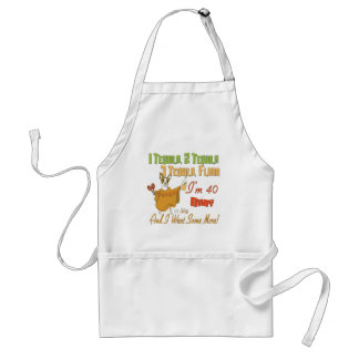 40th Birthday Gifts Adult Apron