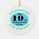 40th Birthday Humor Ornaments