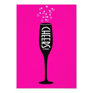 40th Birthday Invitation - Hot Mama Cheers!