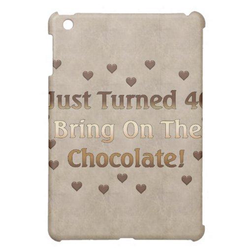 40th Birthday Means Chocolate iPad Mini Case