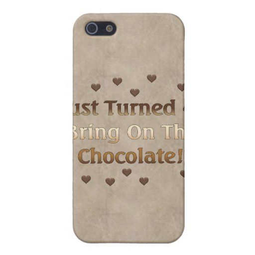 40th Birthday Means Chocolate iPhone 5 Cases