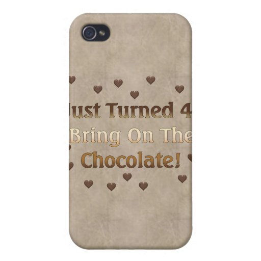 40th Birthday Means Chocolate Case For iPhone 4