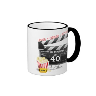 40th Birthday Movie Birthday Party Coffee Mug