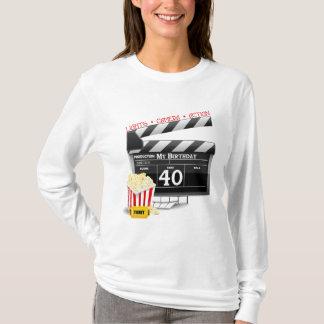 40th Birthday Movie Birthday Party T-Shirt