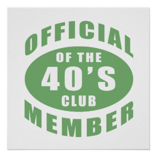 40th Birthday Official Member Poster