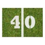 40th Birthday Party! Invitation Customizable