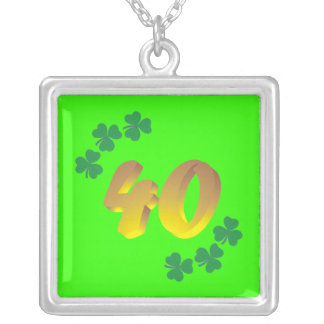 40th Birthday Party Necklace