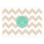 40th Birthday Party - Save the Date - Choose Color Postcard