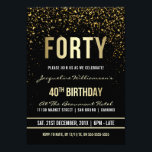 """40th Birthday Party 