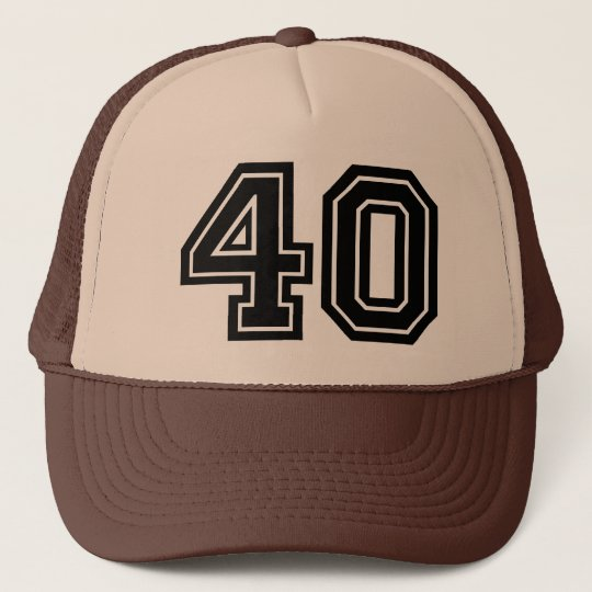 40th Birthday Party Trucker Hat