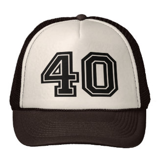 40th Birthday Party Trucker Hat