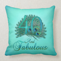 40th Birthday Pillows