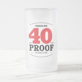 40th Birthday Proof of Good Living - Mug