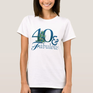 40th Birthday T-shirts