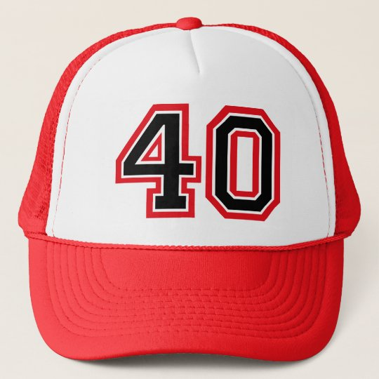f8d86c01354 40th Birthday Trucker Hat