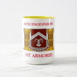 40TH ENGINEER BATTALION 1ST ARMORED MUG