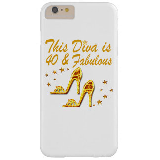 40TH GOLD SHOES BARELY THERE iPhone 6 PLUS CASE