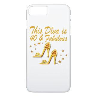 40TH GOLD SHOES iPhone 8 PLUS/7 PLUS CASE