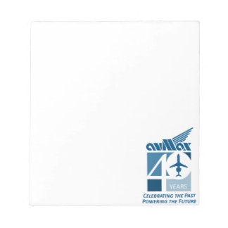 40th Logo Clothing Notepad