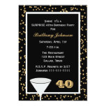 40th Surprise Birthday Party Invitation Announcement