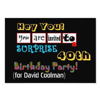 funny adult birthday party invitations announcements zazzle. Black Bedroom Furniture Sets. Home Design Ideas