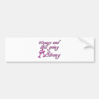 40th wedding anniversary bumper sticker
